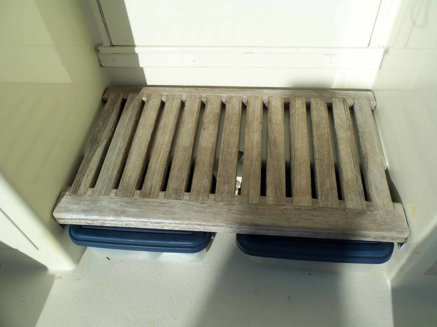 Hatteras-52C 1985-BIG EYES Lighthouse Point-Florida-United States-Custom Entry Step with Storage Below-1356027 | Thumbnail