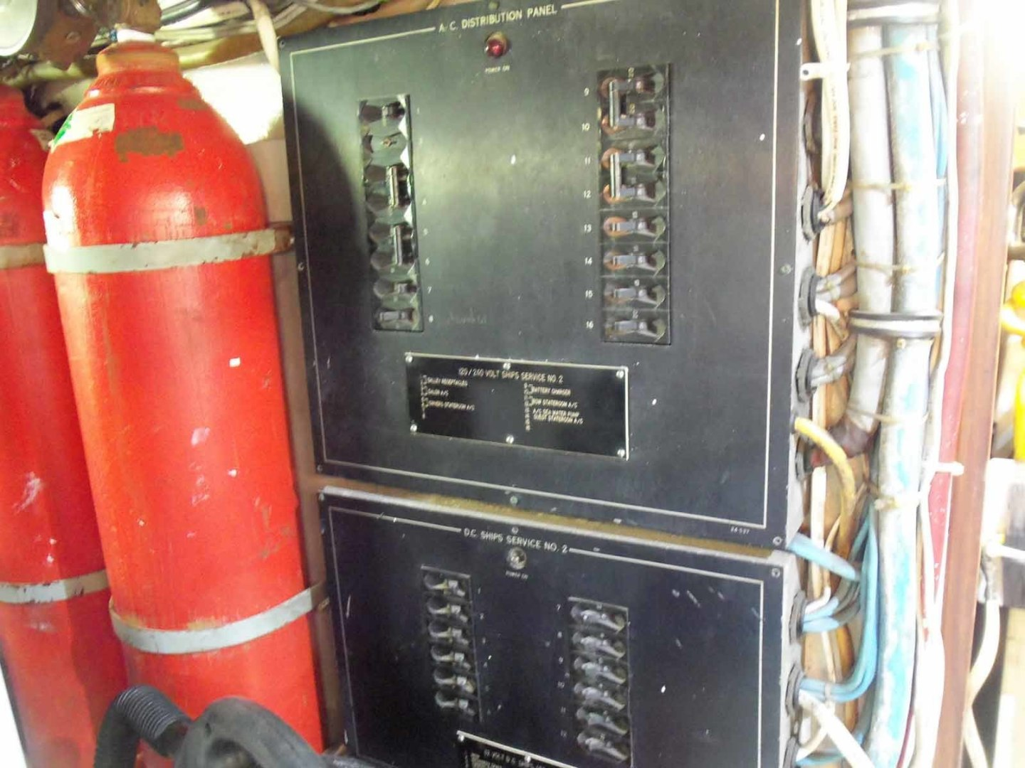 Hatteras-52C 1985-BIG EYES Lighthouse Point-Florida-United States-Engine Room Electrical Panel-1356056 | Thumbnail