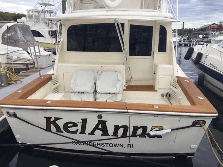 Ocean Yachts-Sportfish 1991-KelAnna East Greenwich-Rhode Island-United States-Stern and Cockpit-1356161   Thumbnail