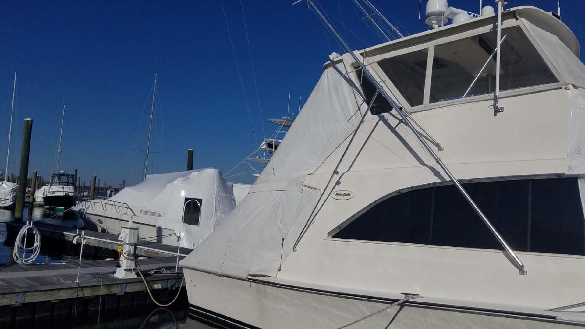 Ocean Yachts-Sportfish 1991-KelAnna East Greenwich-Rhode Island-United States-Bridge Stbd Profile-1356165   Thumbnail