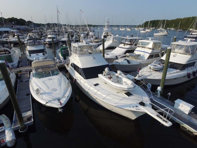Ocean Yachts-Sportfish 1991-KelAnna East Greenwich-Rhode Island-United States-Overhead View-1356158   Thumbnail