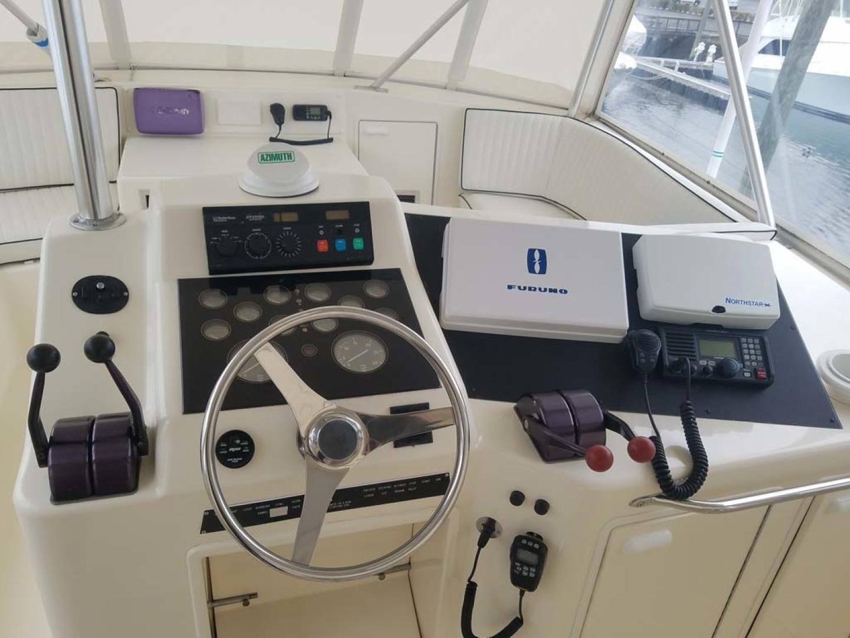Ocean Yachts-Sportfish 1991-KelAnna East Greenwich-Rhode Island-United States-Bridge Helm-1356166   Thumbnail