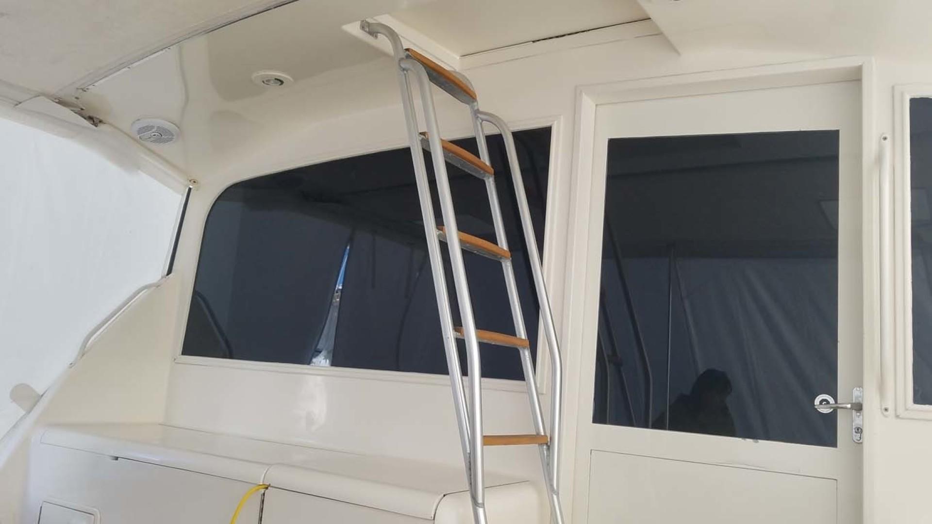 Ocean Yachts-Sportfish 1991-KelAnna East Greenwich-Rhode Island-United States-Cabin Entry From Cockpit-1356174   Thumbnail