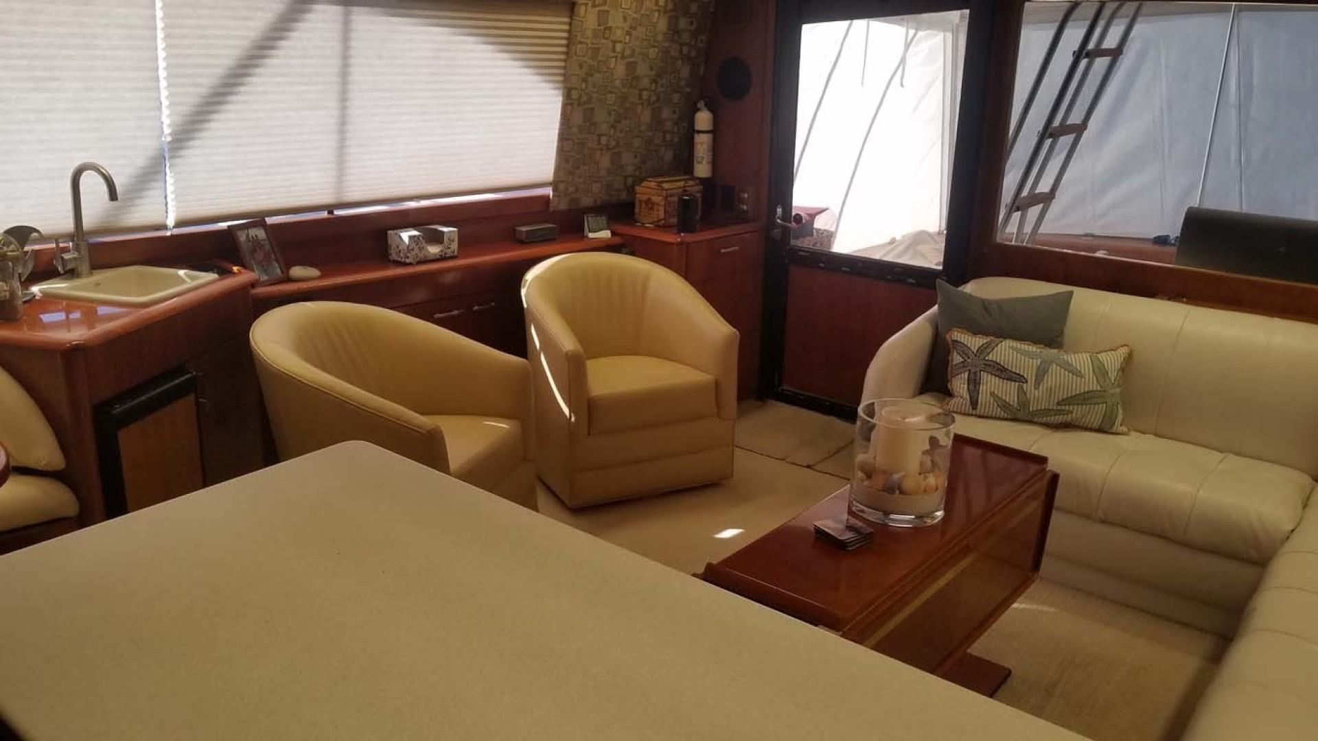 Ocean Yachts-Sportfish 1991-KelAnna East Greenwich-Rhode Island-United States-Salon To Stbd Aft-1356176   Thumbnail