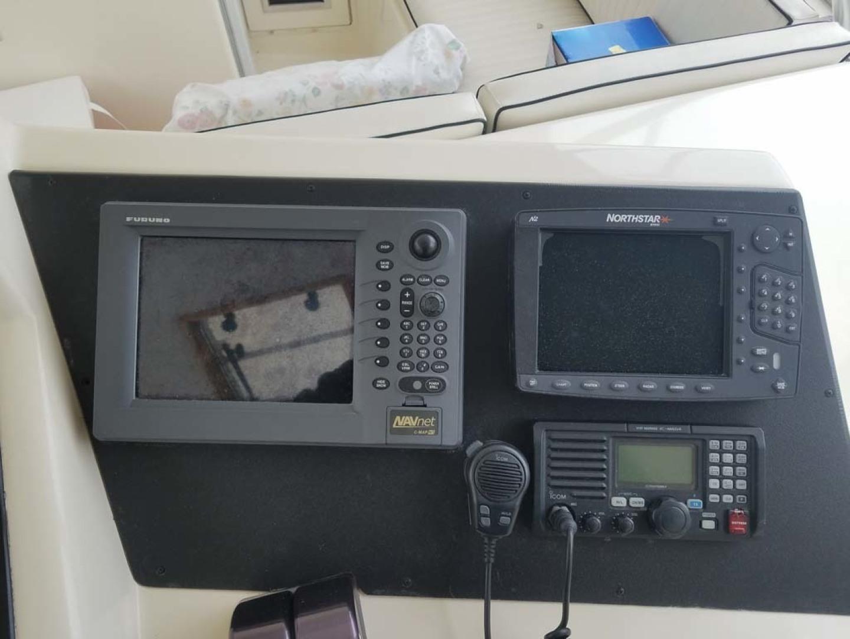 Ocean Yachts-Sportfish 1991-KelAnna East Greenwich-Rhode Island-United States-Helm Electronics-1356169   Thumbnail