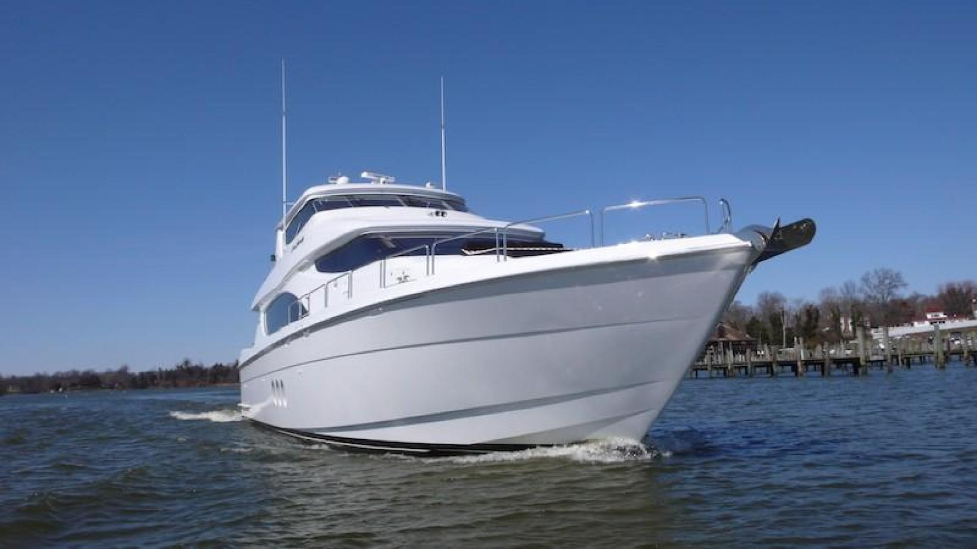 Hatteras-Sky Lounge Motor Yacht 2005-SECOND GENERATION Georgetown-Maryland-United States-1356066 | Thumbnail