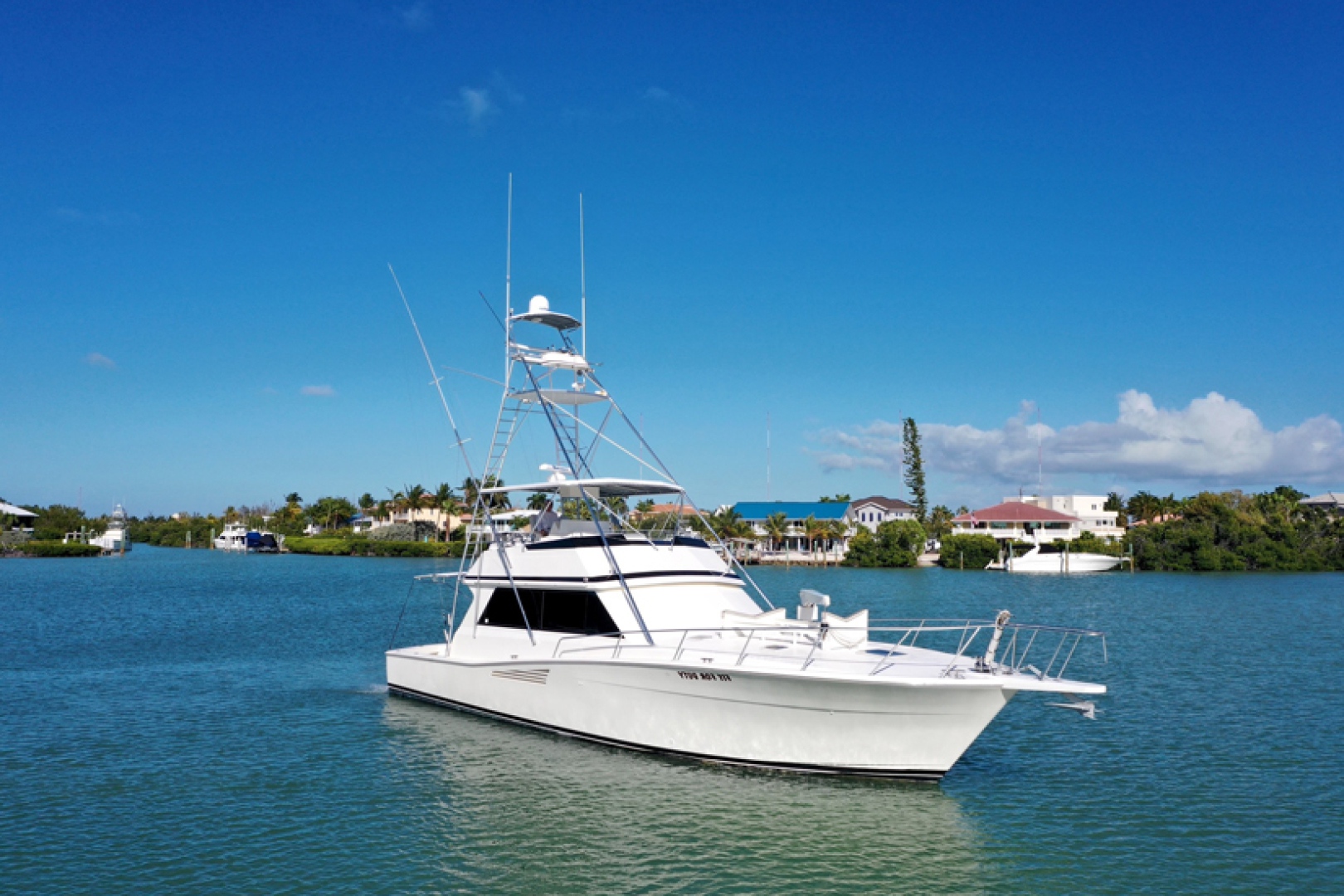 Picture Of: 53' Viking 53 Convertible 1990 Yacht For Sale | 1 of 75