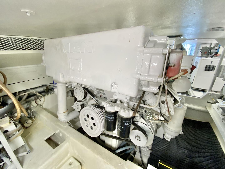 Viking-53 Convertible 1990-Fit For Duty Marathon-Florida-United States-1990 Viking 53 Convertible  Engine Room-1358608   Thumbnail