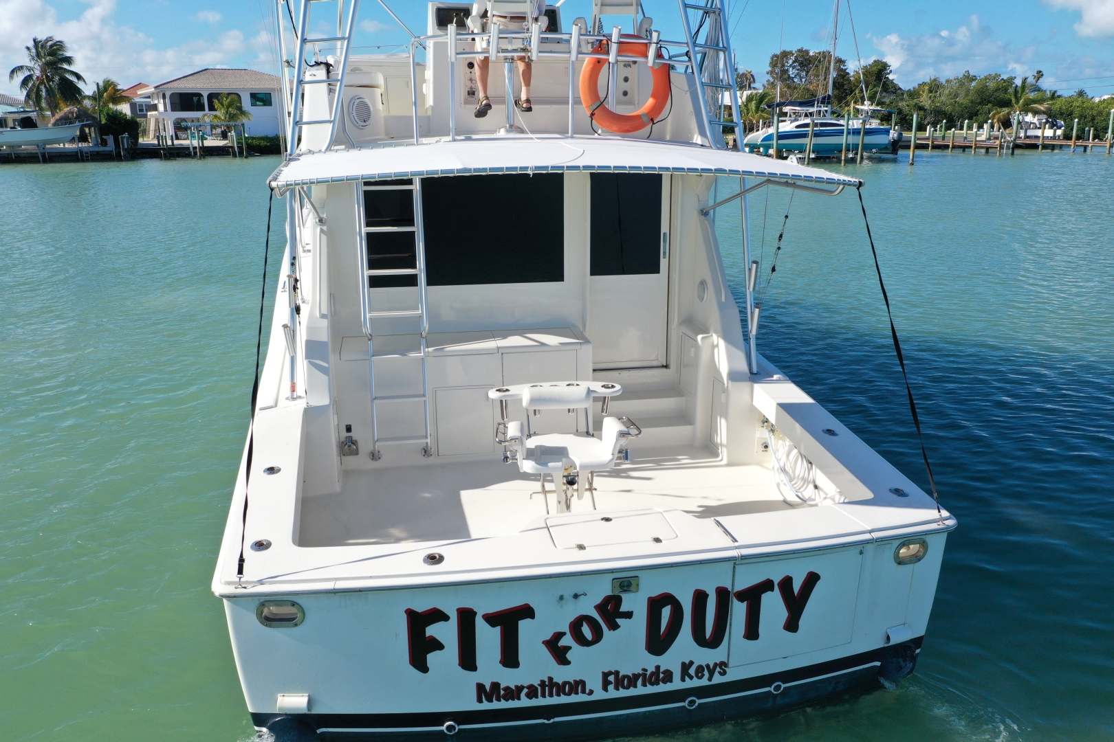 Picture Of: 53' Viking 53 Convertible 1990 Yacht For Sale | 2 of 75