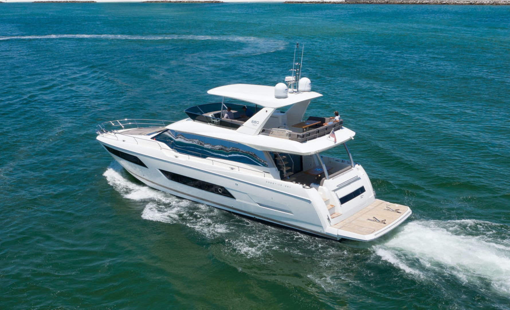 Picture Of: 68' Prestige 680 Flybridge 2018 Yacht For Sale   1 of 86