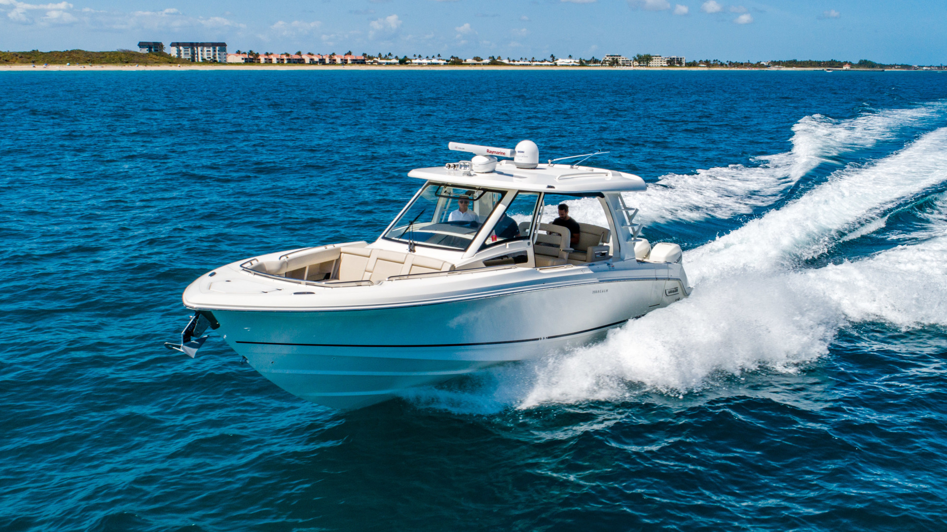 Picture Of: 35' Boston Whaler 350 Realm 2018 Yacht For Sale | 2 of 35