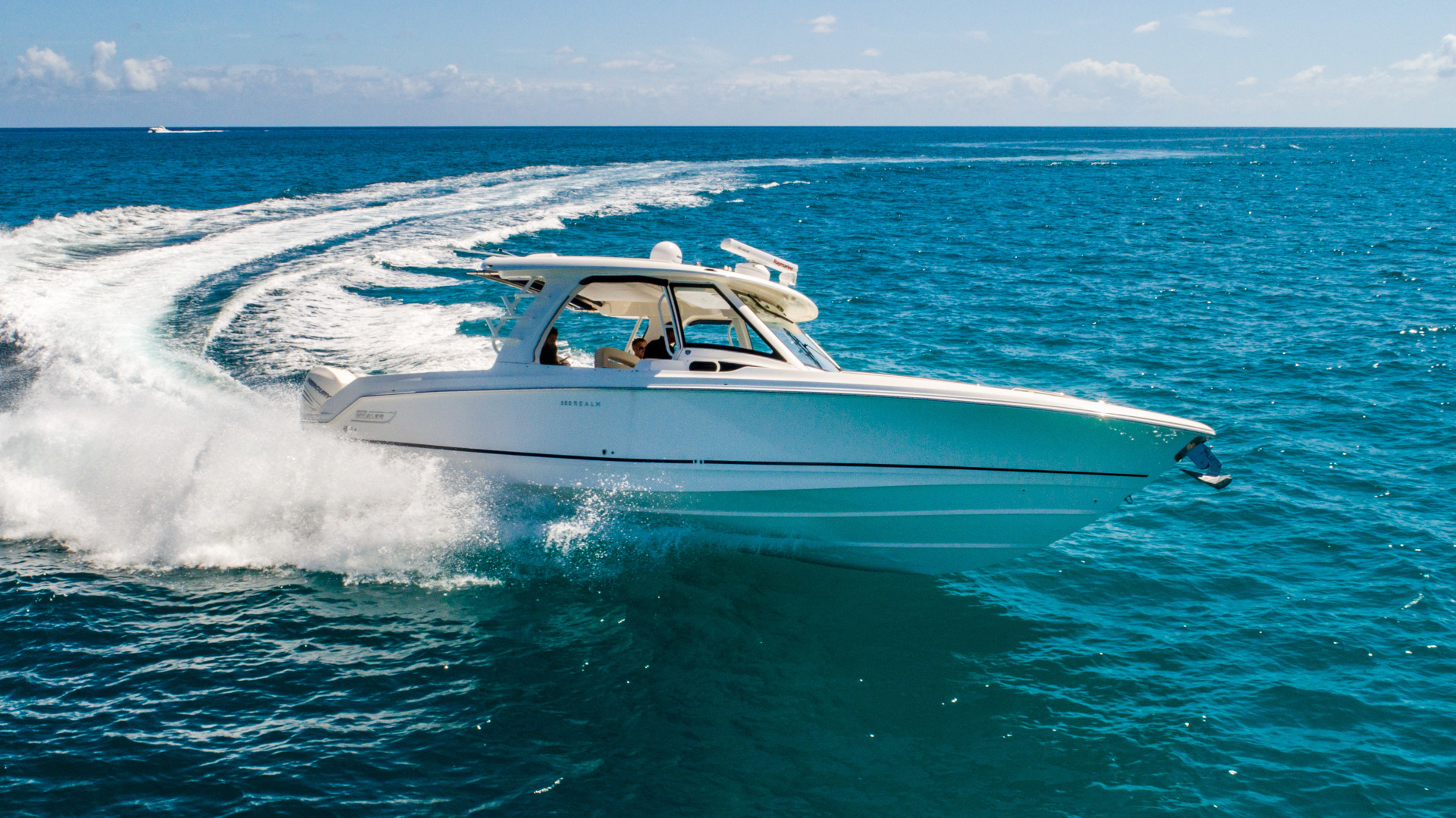 Picture Of: 35' Boston Whaler 350 Realm 2018 Yacht For Sale | 1 of 35