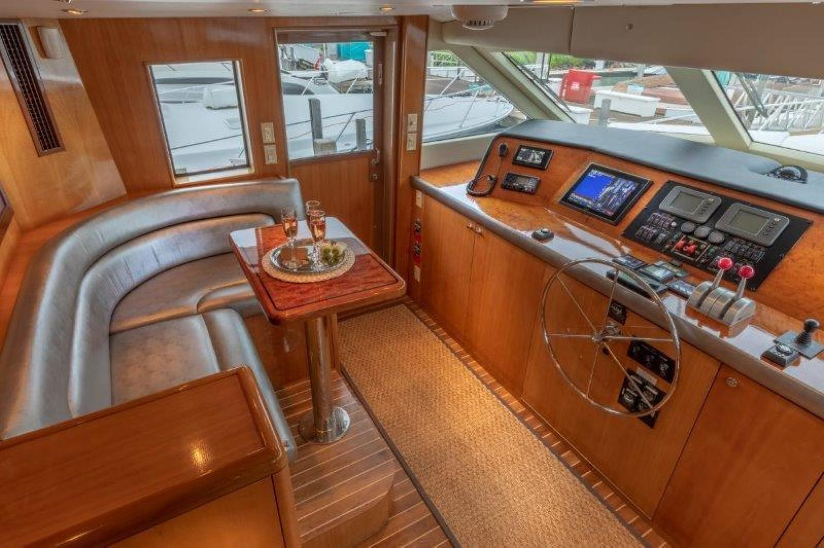 Hatteras-Cockpit Motoryacht 2003-VICTORY LANE Miami-Florida-United States-Pilothouse-1506993 | Thumbnail
