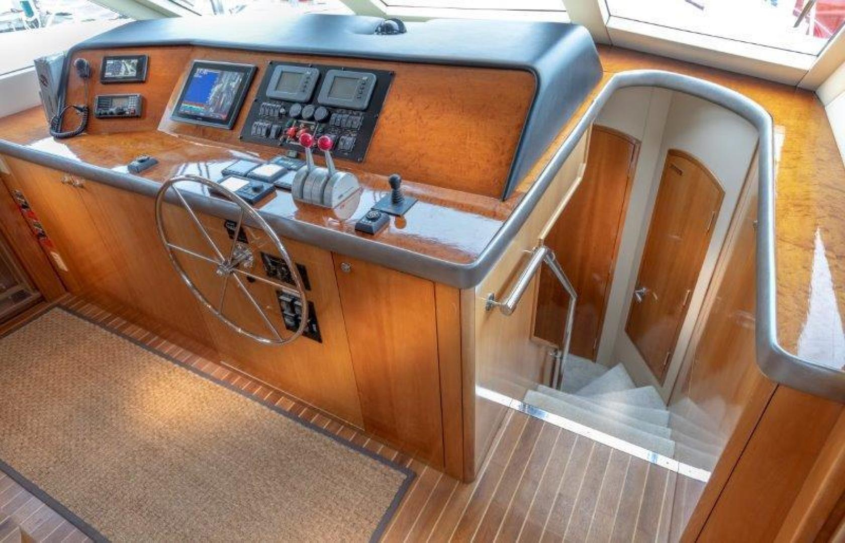 Hatteras-Cockpit Motoryacht 2003-VICTORY LANE Miami-Florida-United States-Pilothouse-1506996 | Thumbnail