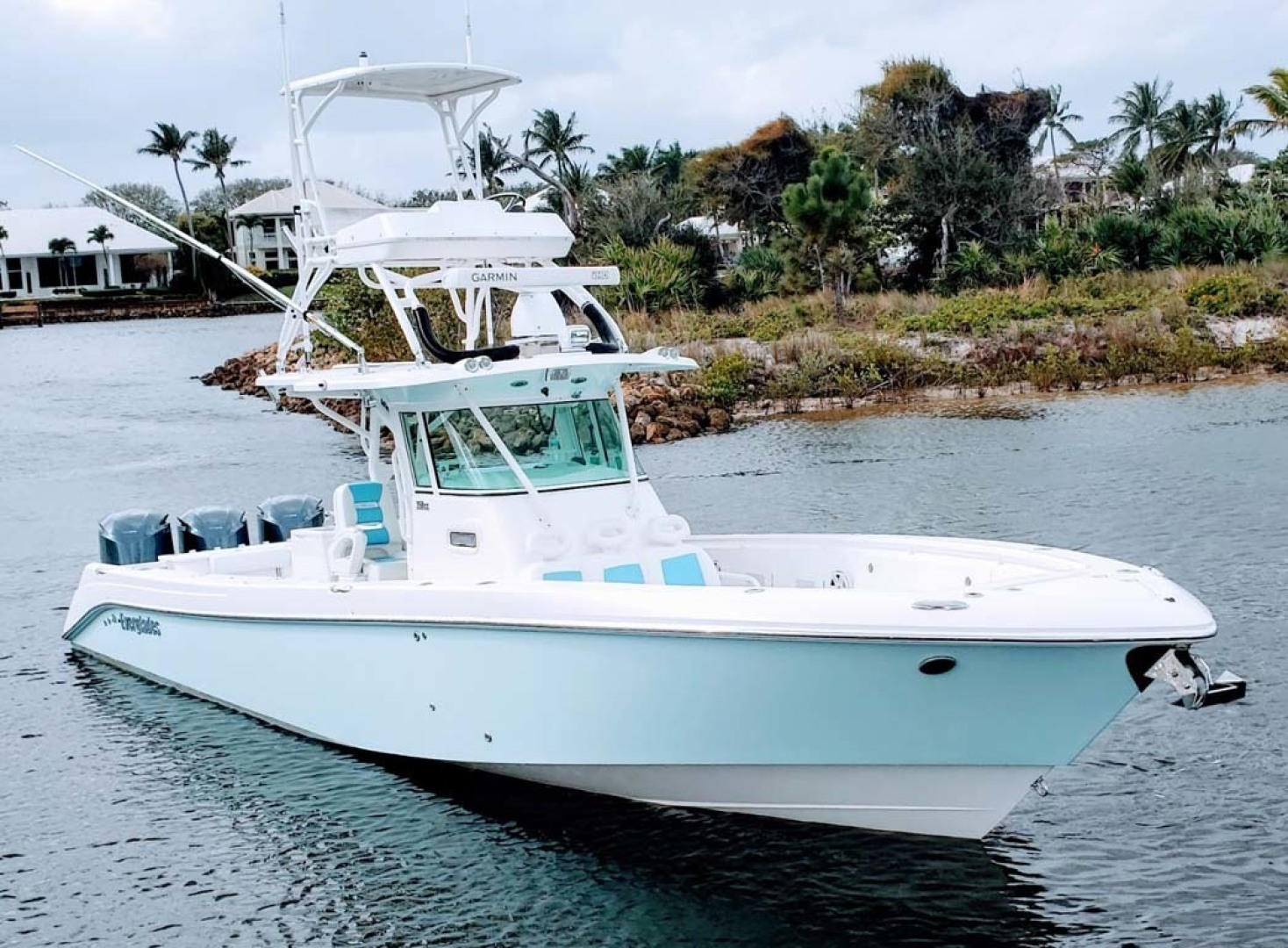 Everglades-350 CC 2011-Sea Predator Palm Beach Gardens-Florida-United States-Starboard Bow-1359611 | Thumbnail