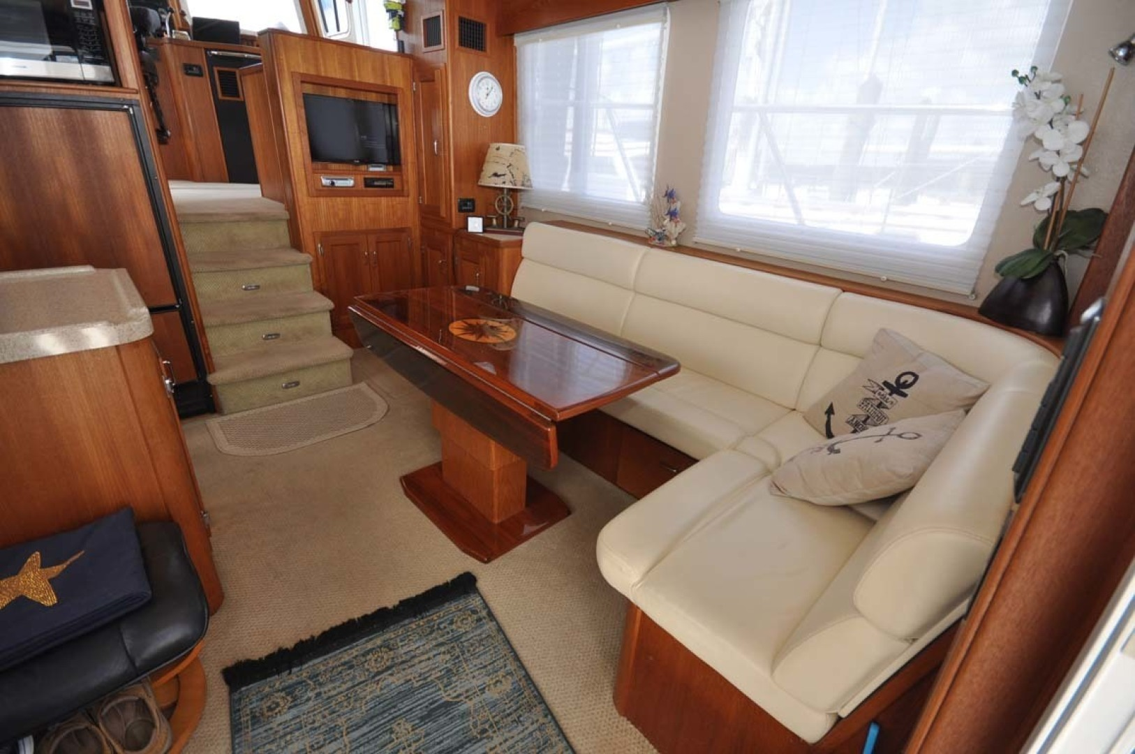 American Tug-41 Trawler 2005-UNFORGETTABLE Port St. Lucie-Florida-United States-Salon To Starboard-1361144 | Thumbnail