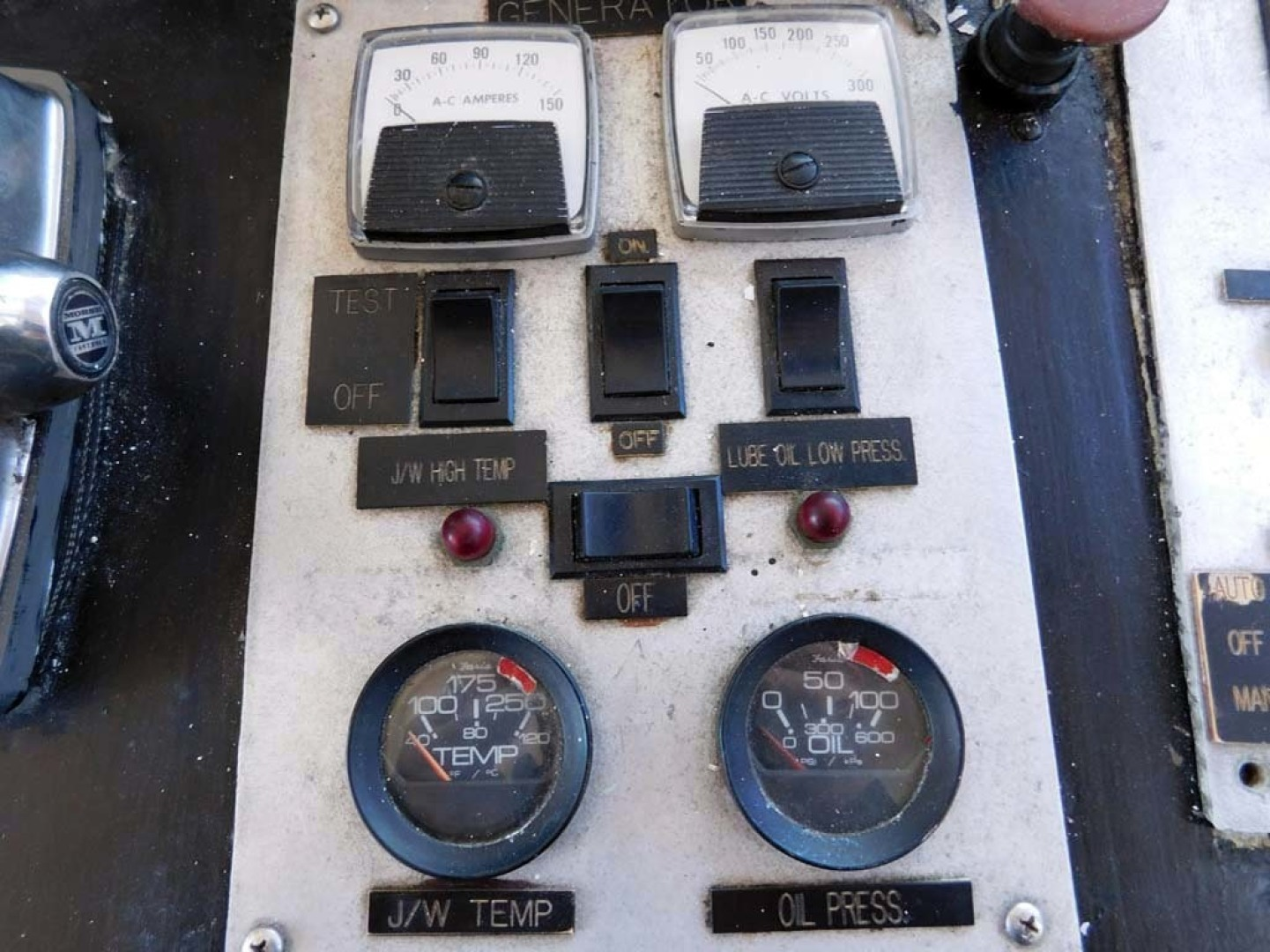 Derecktor-Custom Research Recovery 1976-Damit Janet V Ponce Inlet-Florida-United States-Genset Control Panel-1361842 | Thumbnail