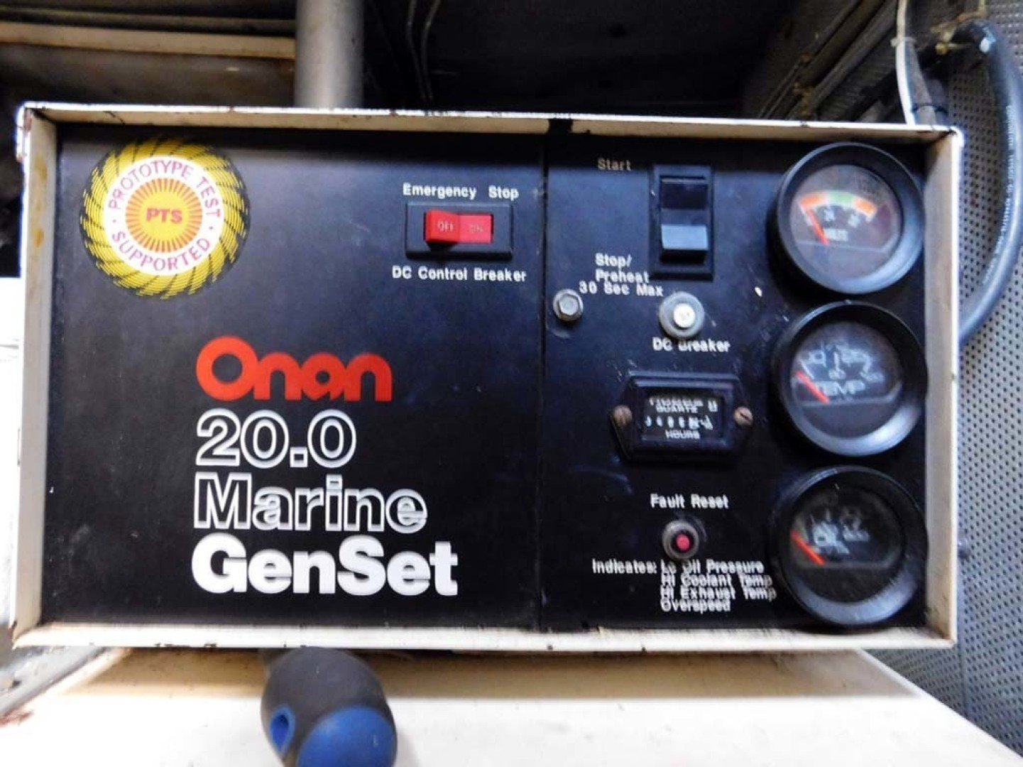 Derecktor-Custom Research Recovery 1976-Damit Janet V Ponce Inlet-Florida-United States-Generator Panel-1361843 | Thumbnail