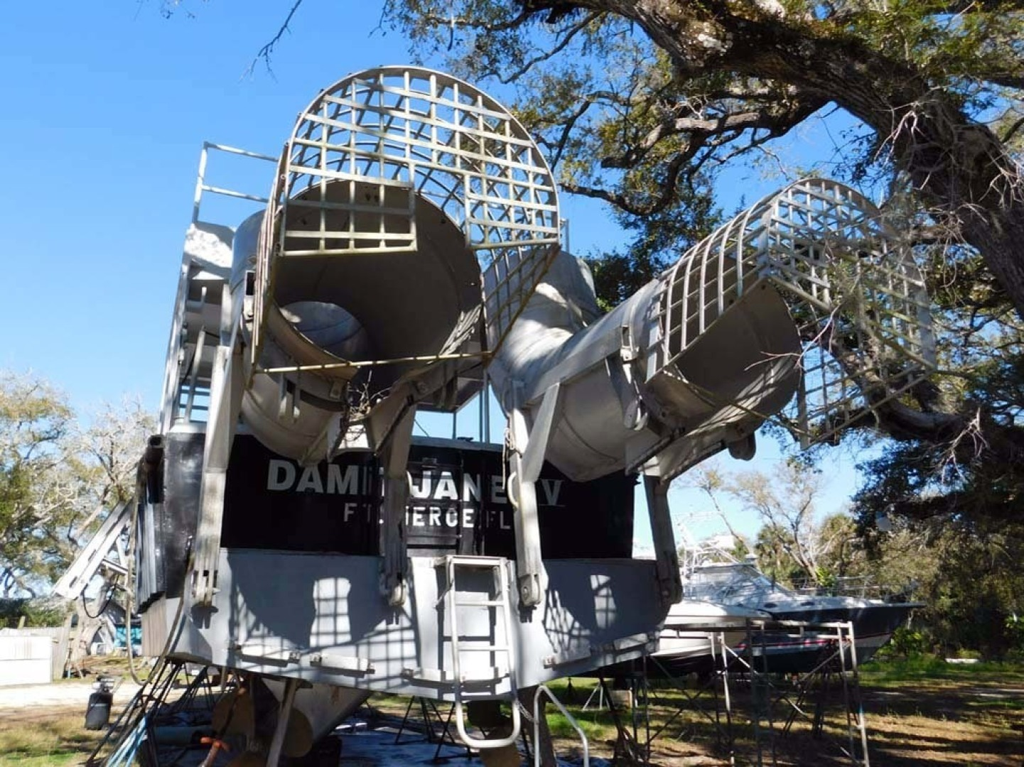 Derecktor-Custom Research Recovery 1976-Damit Janet V Ponce Inlet-Florida-United States-Stern-1361889 | Thumbnail