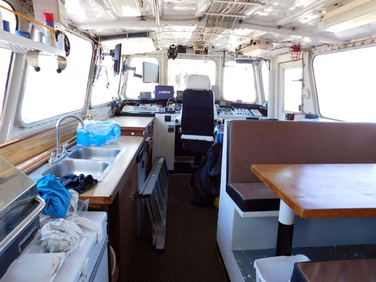 Derecktor-Custom Research Recovery 1976-Damit Janet V Ponce Inlet-Florida-United States-Pilothouse-1361859 | Thumbnail