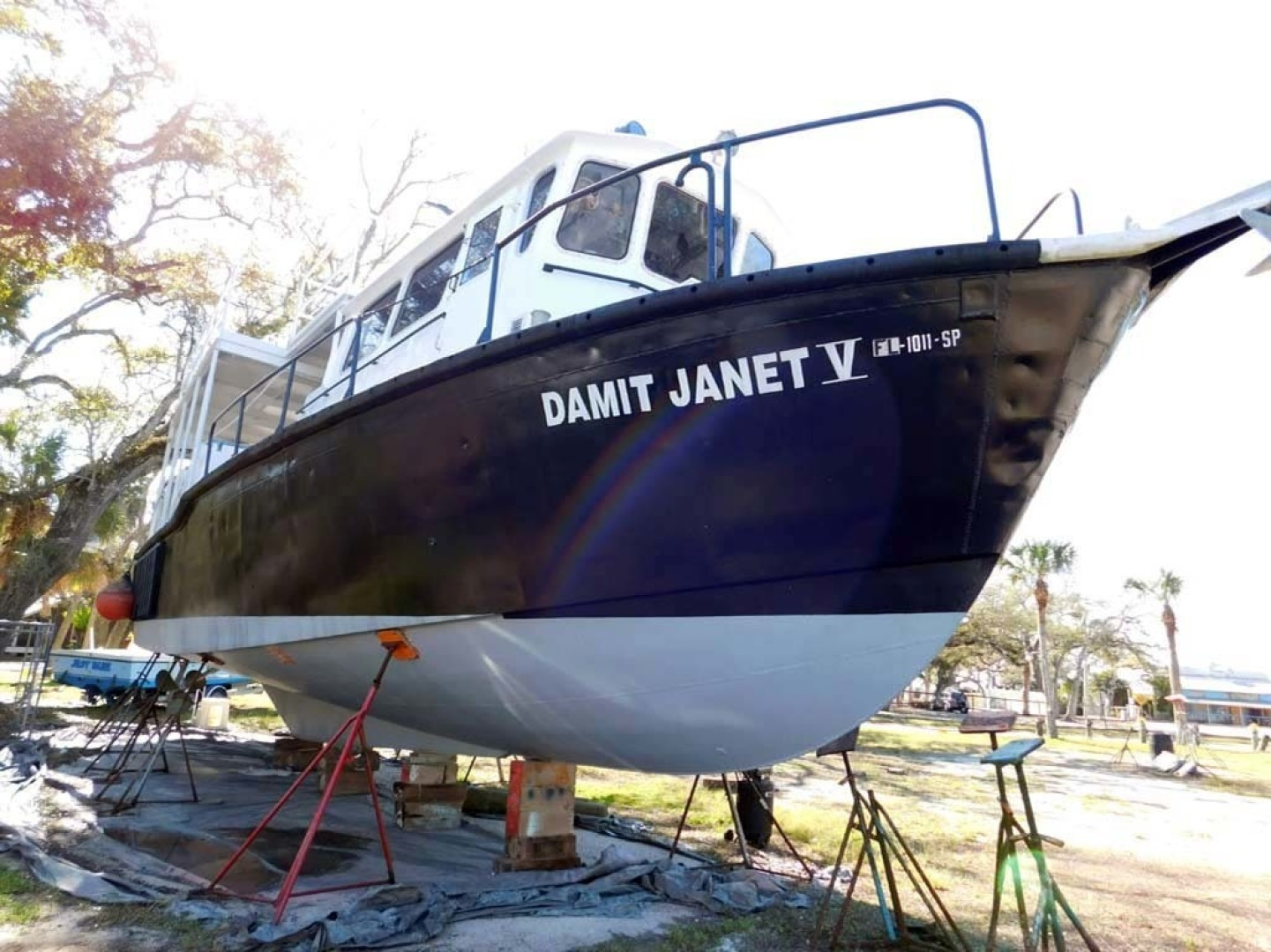 Derecktor-Custom Research Recovery 1976-Damit Janet V Ponce Inlet-Florida-United States-Starboard Bow-1361826 | Thumbnail