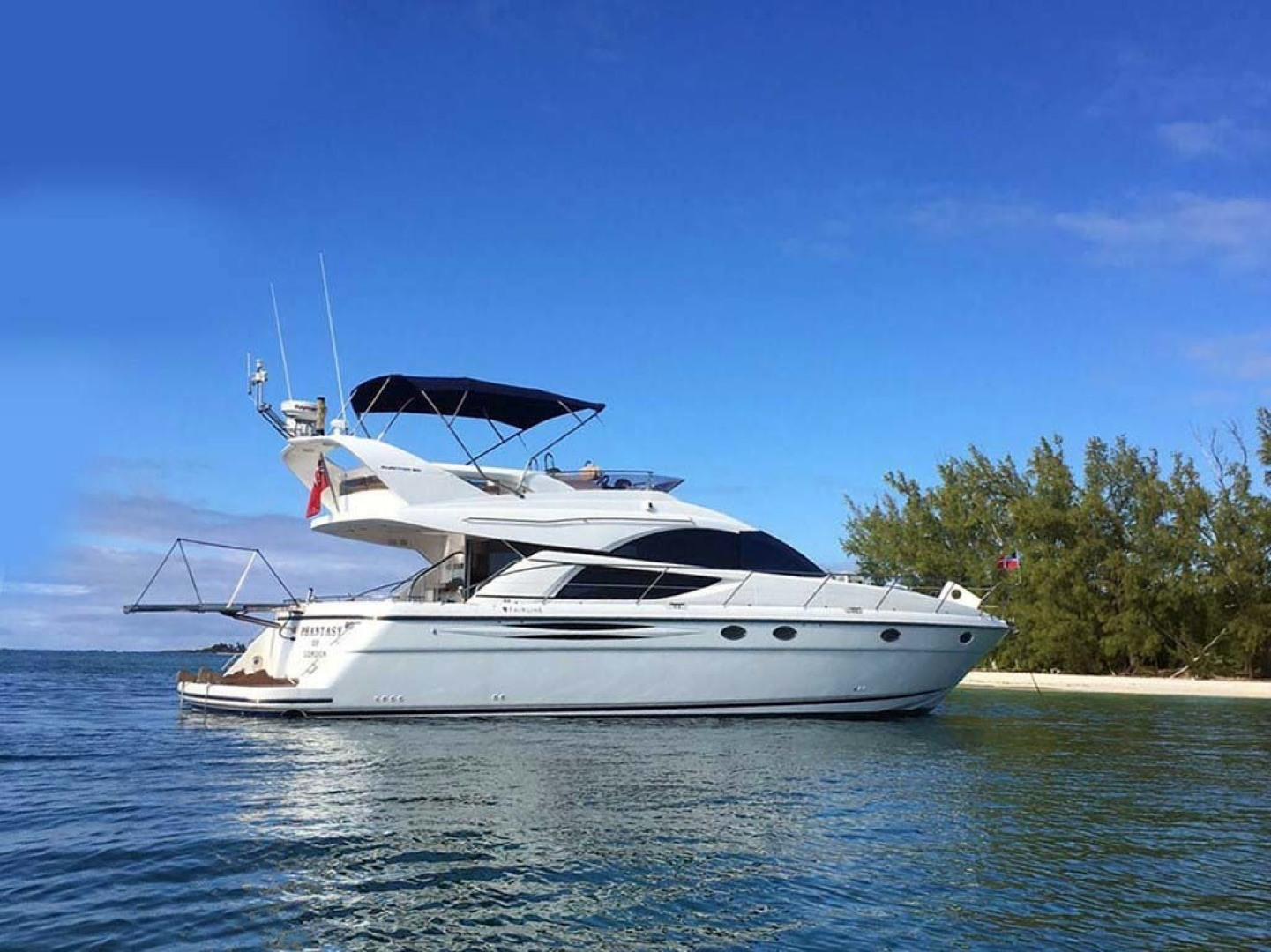 Picture Of: 50' Fairline Phantom 50 2008 Yacht For Sale | 1 of 32