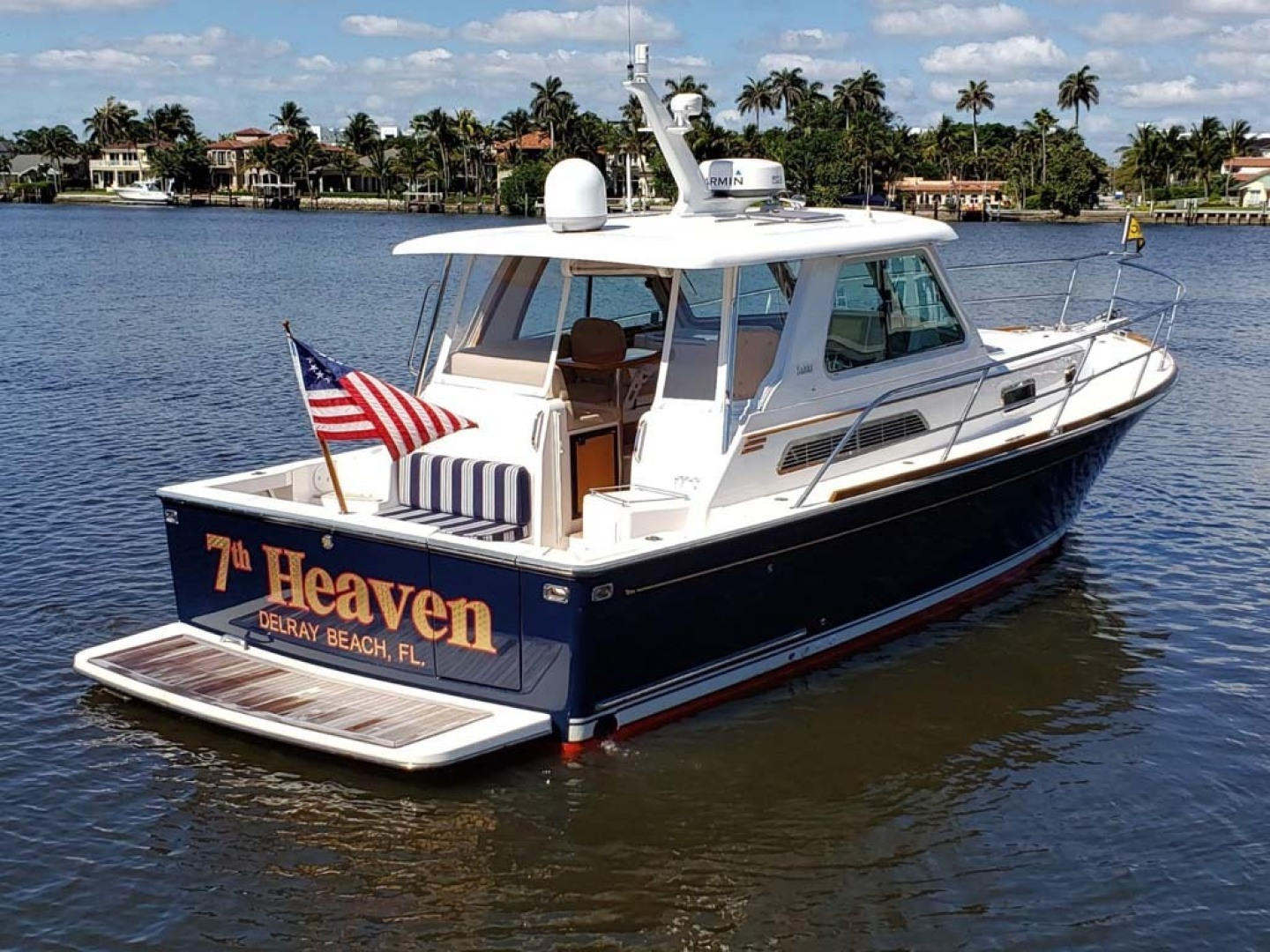 Sabre-Express 2007-7th Heaven Palm Beach Gardens-Florida-United States Starboard Aft-1367273 | Thumbnail