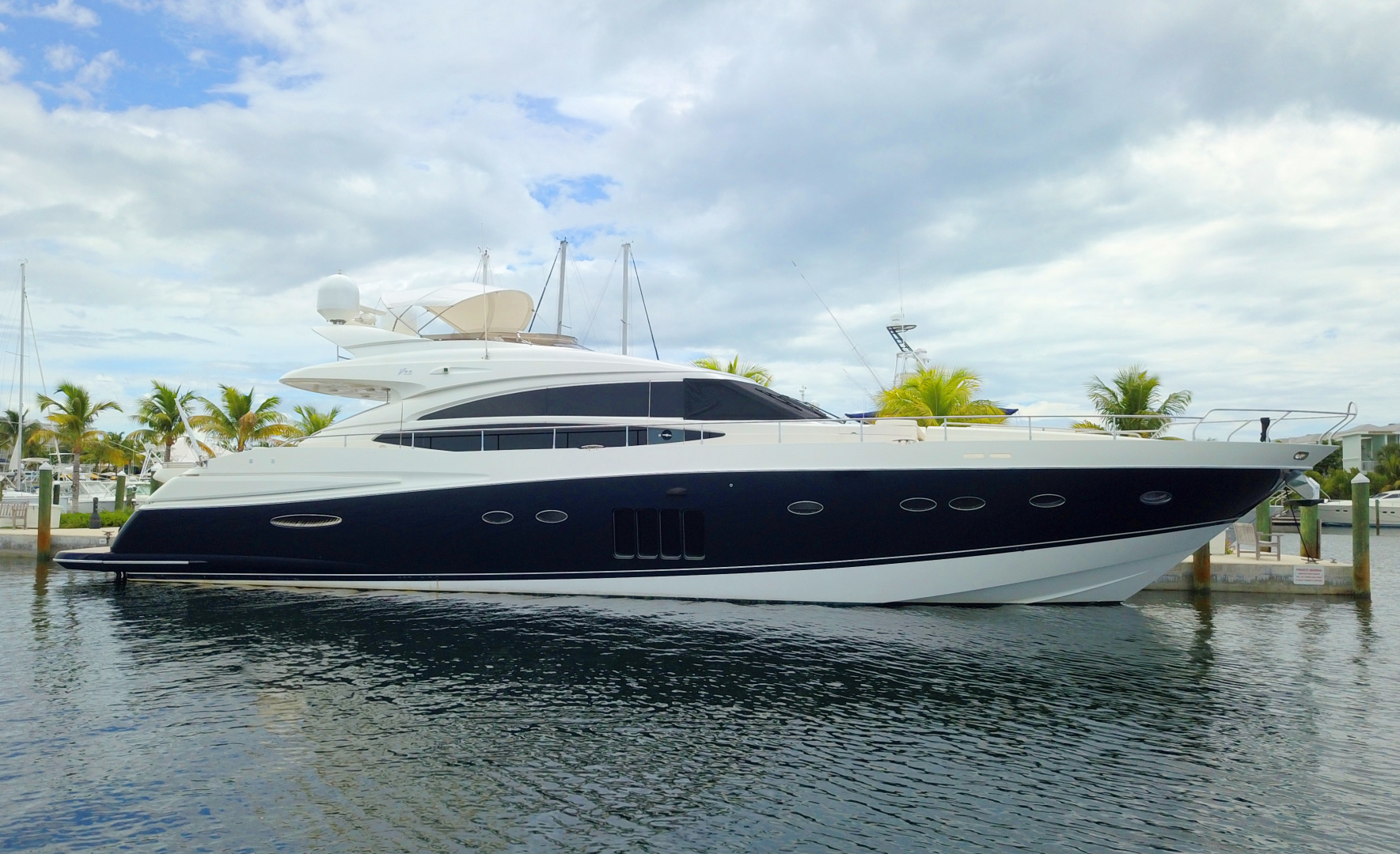 Picture Of: 85' Viking Princess V85 2009 Yacht For Sale | 1 of 86
