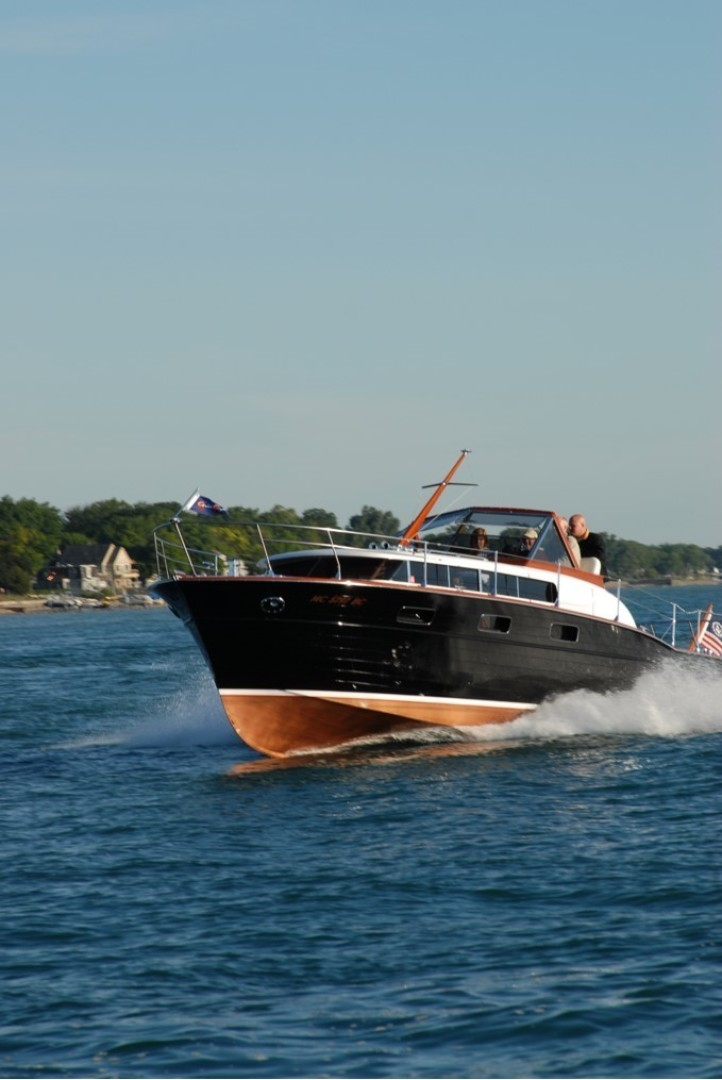 Chris-Craft-33 Futura 1957-Black Beauty Port Huron-Michigan-United States-1366814 | Thumbnail