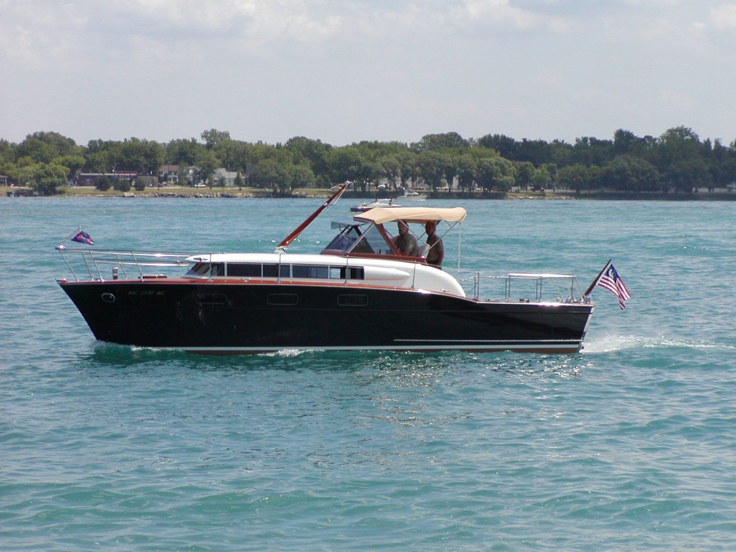 Chris-Craft-33 Futura 1957-Black Beauty Port Huron-Michigan-United States-1366788 | Thumbnail