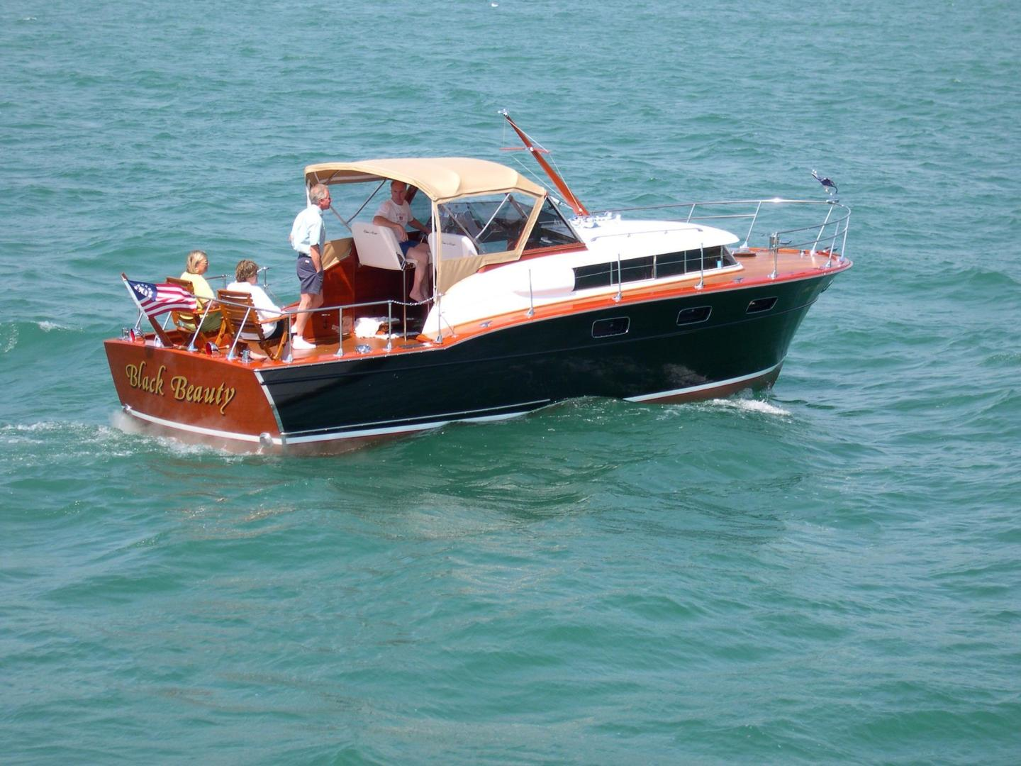 Chris-Craft-33 Futura 1957-Black Beauty Port Huron-Michigan-United States-1366789 | Thumbnail