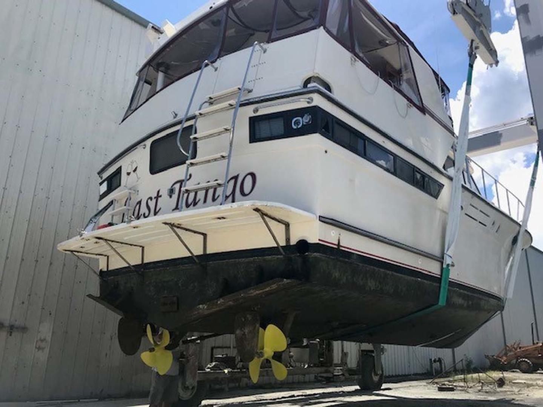 Californian-45 Aft Cabin Motor Yacht 1989-Last Tango Merritt Island-Florida-United States-On The Hard  Running Gear-1367191   Thumbnail