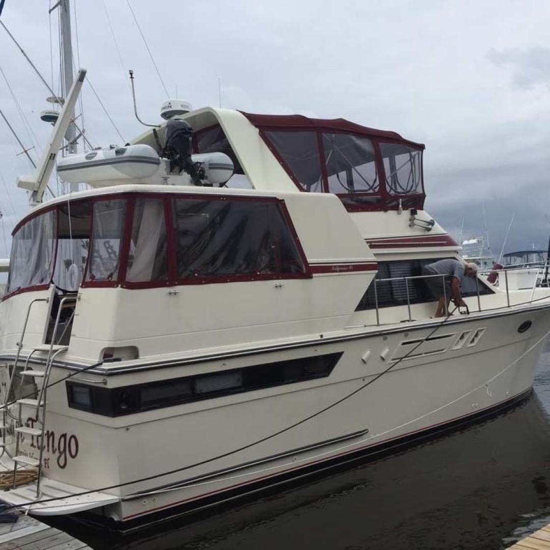 Californian-45 Aft Cabin Motor Yacht 1989-Last Tango Merritt Island-Florida-United States-Starboard Aft View-1367182   Thumbnail