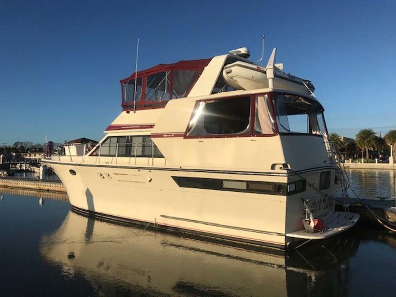 Californian-45 Aft Cabin Motor Yacht 1989-Last Tango Merritt Island-Florida-United States-Aft Port Profile-1367189   Thumbnail