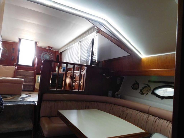 Californian-45 Aft Cabin Motor Yacht 1989-Last Tango Merritt Island-Florida-United States-Dinette-1367157   Thumbnail