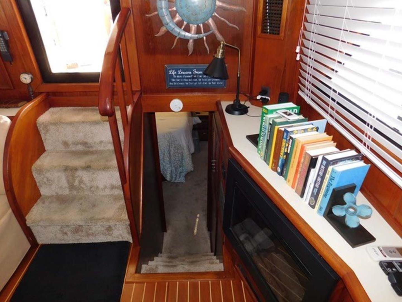 Californian-45 Aft Cabin Motor Yacht 1989-Last Tango Merritt Island-Florida-United States-Aft Cabin Entrance-1367151   Thumbnail