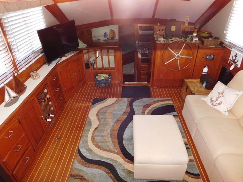Californian-45 Aft Cabin Motor Yacht 1989-Last Tango Merritt Island-Florida-United States-Main Salon   Forward-1367147   Thumbnail