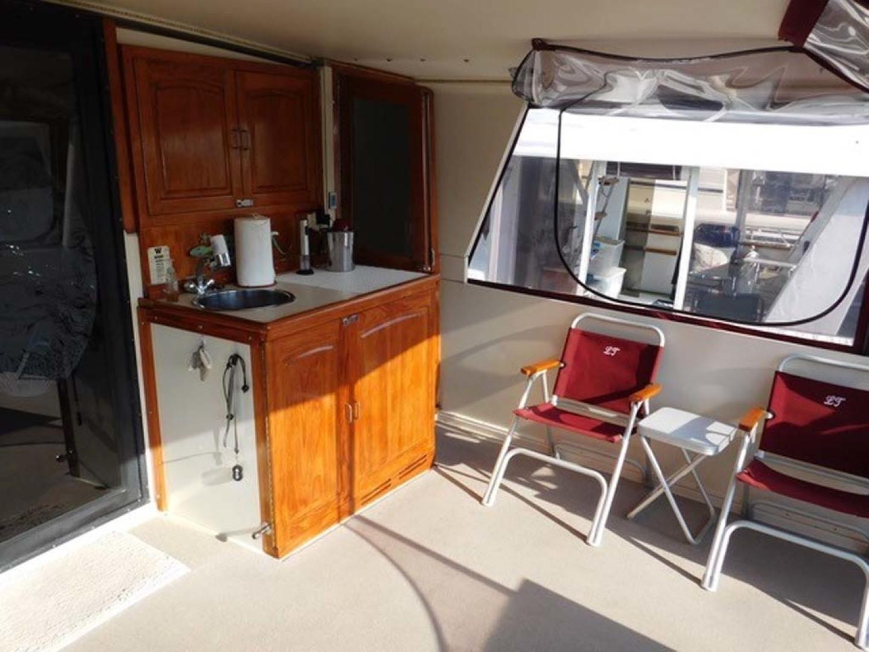 Californian-45 Aft Cabin Motor Yacht 1989-Last Tango Merritt Island-Florida-United States-Aft/Sun Deck Wet Bar-1367178   Thumbnail