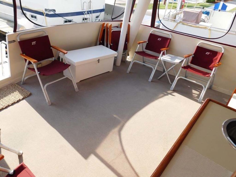 Californian-45 Aft Cabin Motor Yacht 1989-Last Tango Merritt Island-Florida-United States-Aft/Sun Deck Seating-1367180   Thumbnail