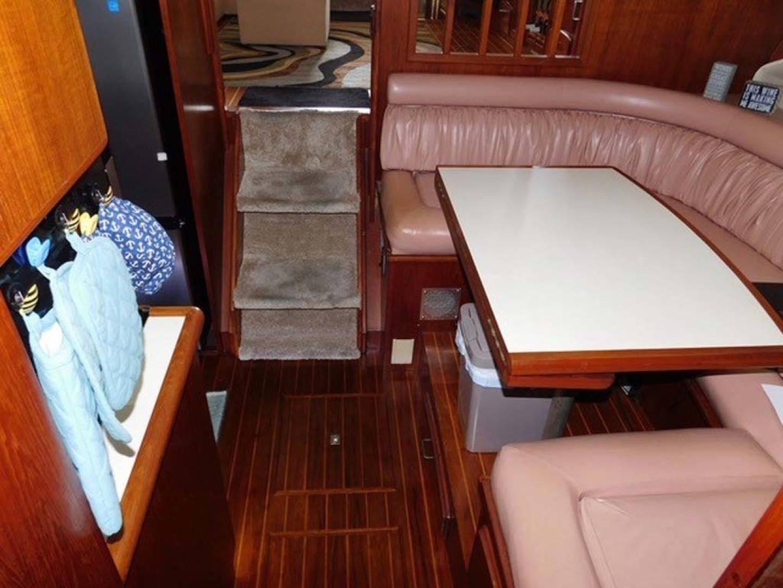 Californian-45 Aft Cabin Motor Yacht 1989-Last Tango Merritt Island-Florida-United States-Large U-Settee-1367158   Thumbnail