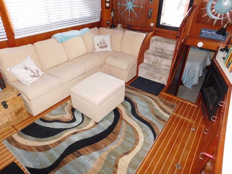 Californian-45 Aft Cabin Motor Yacht 1989-Last Tango Merritt Island-Florida-United States-Salon  Stbd Aft-1367150   Thumbnail