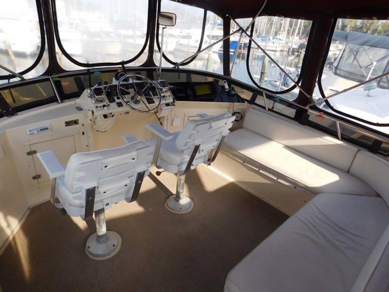 Californian-45 Aft Cabin Motor Yacht 1989-Last Tango Merritt Island-Florida-United States-Bridge Layout-1367174   Thumbnail