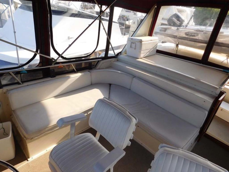 Californian-45 Aft Cabin Motor Yacht 1989-Last Tango Merritt Island-Florida-United States-Bridge Seating-1367175   Thumbnail