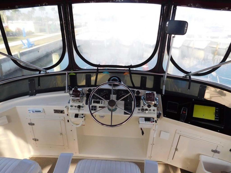 Californian-45 Aft Cabin Motor Yacht 1989-Last Tango Merritt Island-Florida-United States-Upper Helm-1367172   Thumbnail