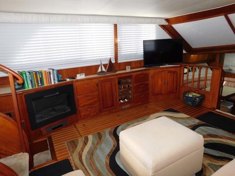 Californian-45 Aft Cabin Motor Yacht 1989-Last Tango Merritt Island-Florida-United States-Port Side Salon-1367142   Thumbnail