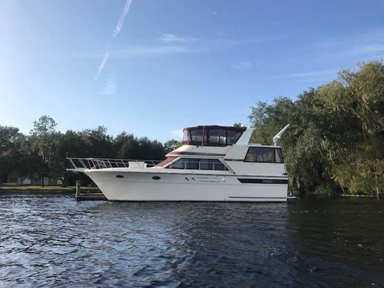 Californian-45 Aft Cabin Motor Yacht 1989-Last Tango Merritt Island-Florida-United States-Port Side Profile-1367188   Thumbnail