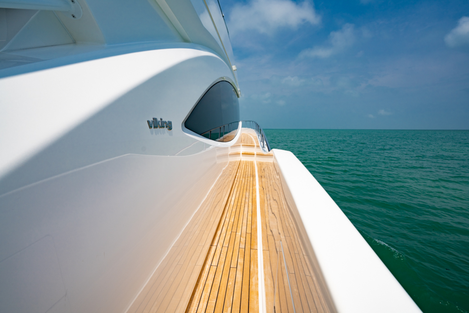 Viking-82 Cockpit MY 2019-Make It Happen Sanibel -Florida-United States-Viking 82CPMY Make It Happen  Side Deck-1378576 | Thumbnail
