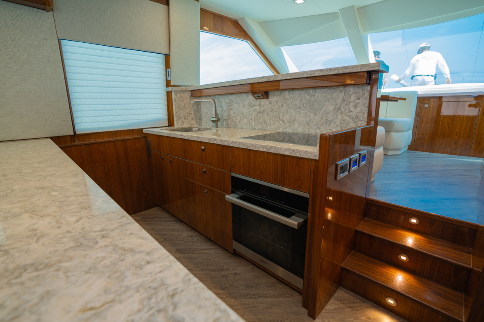 Viking-82 Cockpit MY 2019-Make It Happen Sanibel -Florida-United States-Viking 82CPMY Make It Happen Galley-1378535 | Thumbnail