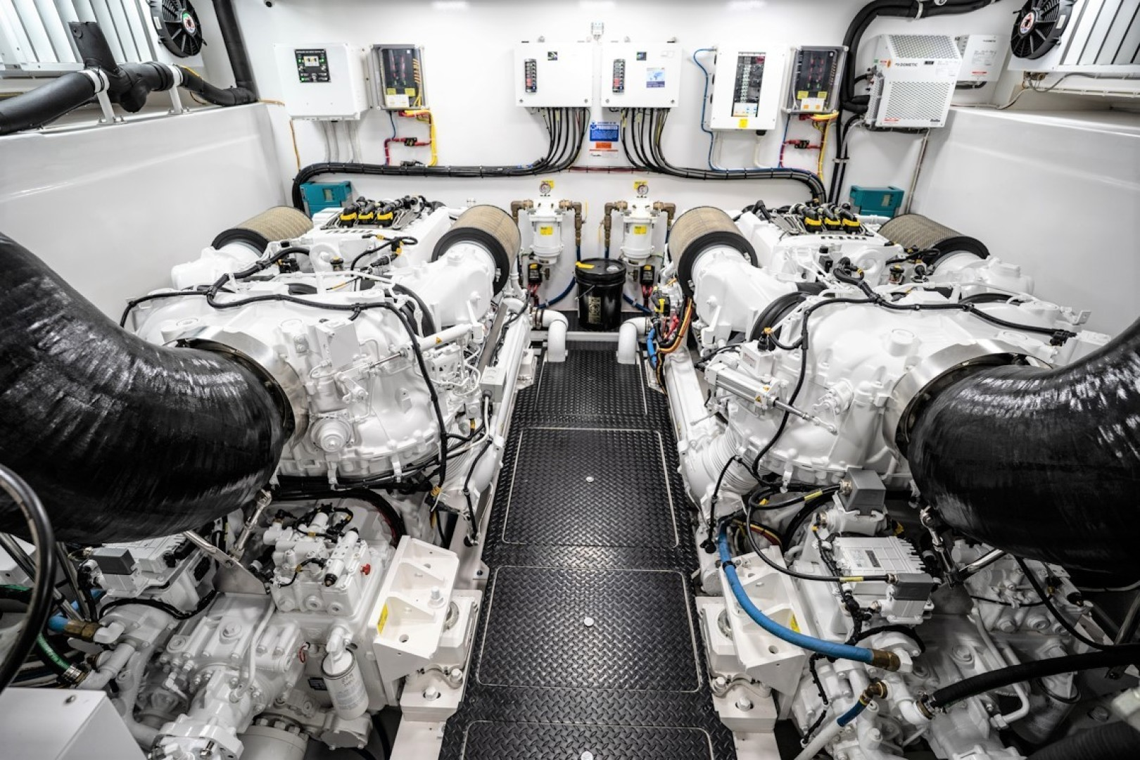 Viking-82 Cockpit MY 2019-Make It Happen Sanibel -Florida-United States-Viking 82CPMY Make It Happen Engine Room-1422519 | Thumbnail