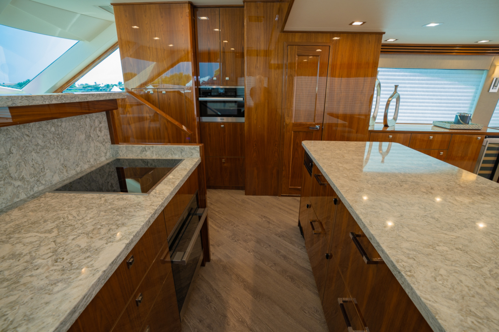 Viking-82 Cockpit MY 2019-Make It Happen Sanibel -Florida-United States-Viking 82CPMY Make It Happen Galley-1378536 | Thumbnail